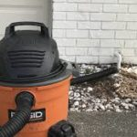 use a shop vac to clear the drain